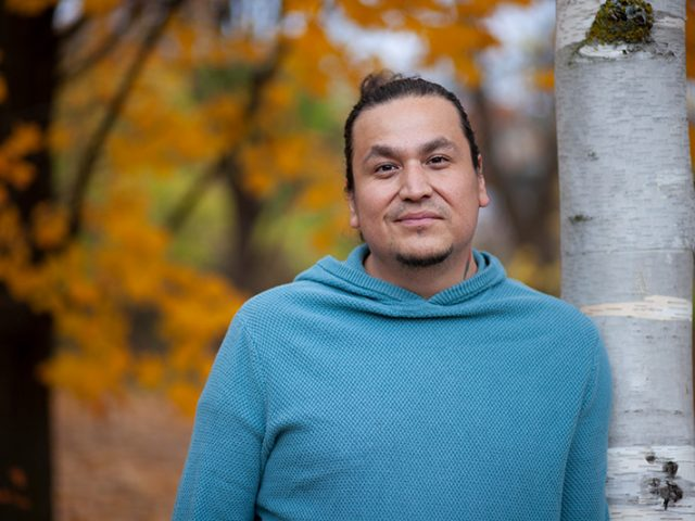 Philip Macho Commonda, the Algonquin Community Liaison Officer with Carleton's Centre for Indigenous Initiatives (CII)